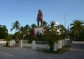 Philippines. Mactan Island.Lapu-Lapu Monument — Stock Photo