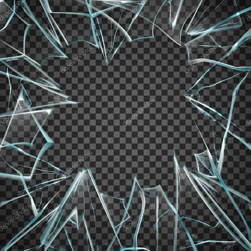 marco transparente de vidrio roto vector de stock 108369536 depositphotos broken glass victorious lyrics broken glass vector png