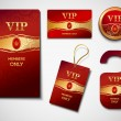 Vip cards design template — Stock Vector #52279889