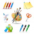 Paint tools set — Stock Vector #53323771