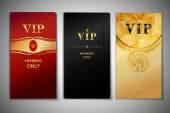 Vip cards set — 图库矢量图片
