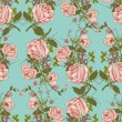Vintage floral seamless color pattern — Stock Vector #54324985