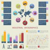 Energy infographics set — Stock Vector