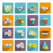 Money Icons Set — Stock Vector #54404407