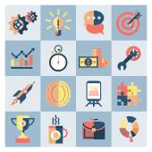 Creative icons set — Stock Vector