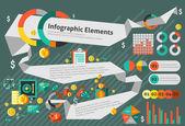 Finance infographic set — Stock Vector
