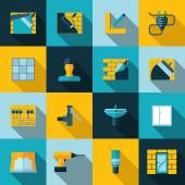 Home repair icons — Vector de stock