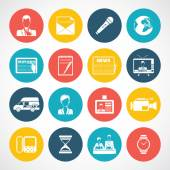 News icons set — Stock Vector