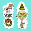 Christmas vertical banners — Stock Vector #55999423