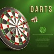 Darts board background — Stock Vector #56042871