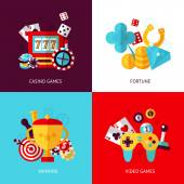 Game design set — Stock Vector
