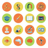 Science and Research Icons — Stock Vector