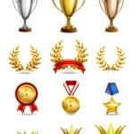 Ranking icons set — Stock Vector #56630803