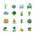 Eco Energy Icons Set — Stock Vector #56659197