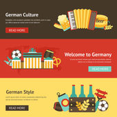 Germany banner set — Stock Vector