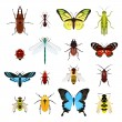 Insects icons set — Stock Vector #57810709