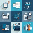 Business concepts set — Stock Vector #58480883