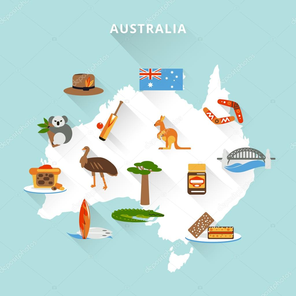 Australia Tourist Map Australia officially the Commonwealth of – Australian Tourist Attractions Map