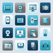 Internet and Mobile Device — Stockvector