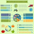 Agriculture infographic elements — Stock Vector #59275913