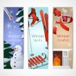Winter Banners Set — Stock Vector #59547073