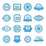 Water emblems set — Stock Vector #59549331