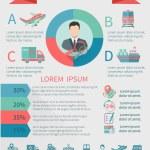 Logistic infographics set — Stock Vector #59950929