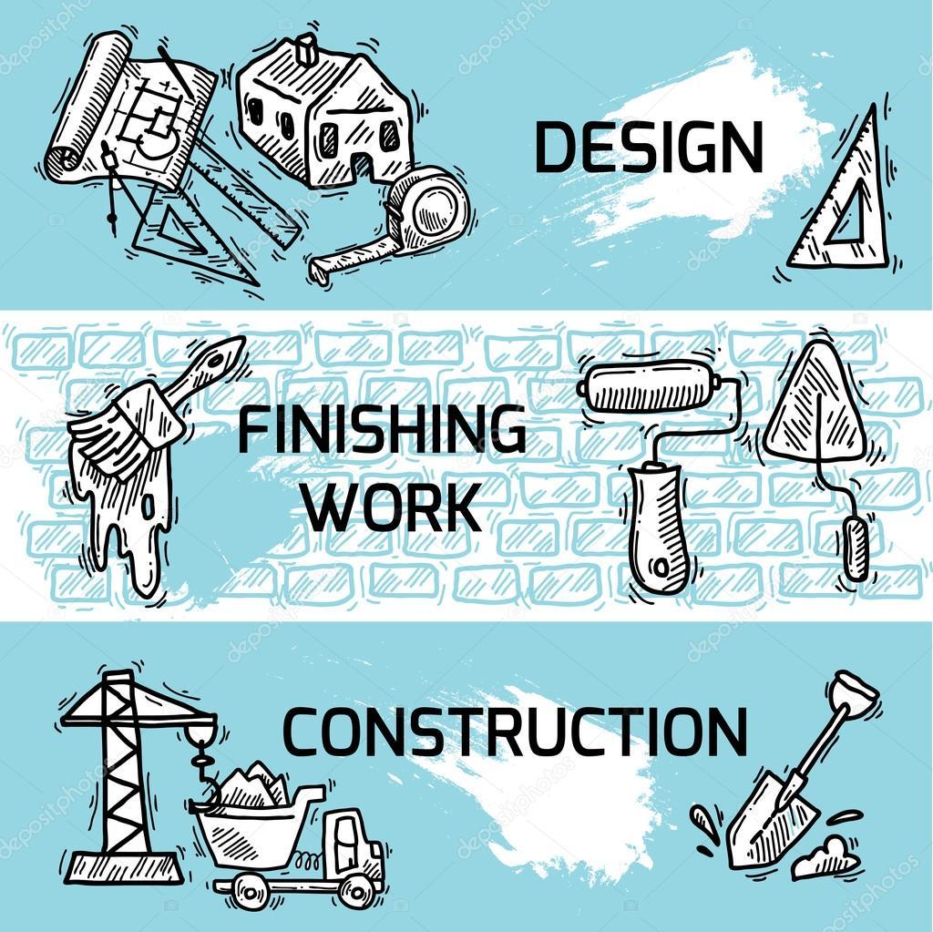 строительный эскиз: