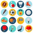 Sport Icons Set — Stock Vector #60301669