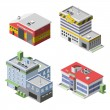 Постер, плакат: Government Buildings Set
