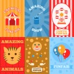 Amusement Park Poster — Stock Vector #62207661