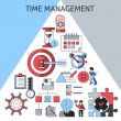Time management concept — Stock Vector #62627901