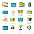 Постер, плакат: Web Development Icons Set
