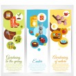 Spring Banners Vertical — Stock Vector #62629113