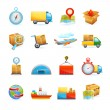 Logistic icons set — Stock Vector #62629143