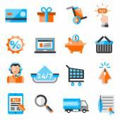 E-commerce Icons Set — Stock Vector