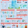 Medical Infographic Set — Stock Vector #63750225