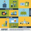 Airport Icons Set — Stock Vector #63750333