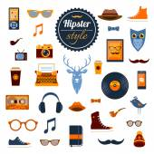 Hipster Elements Set — Stock Vector