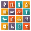 Plumbing icons set — Stock Vector #64847159