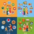 Family Icons Set — Stock Vector #64847287