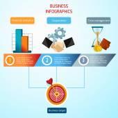Business Infographics Set — Stock Vector