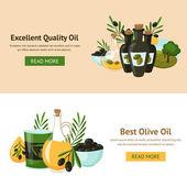 Olive Design Concept — Stock Vector