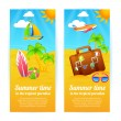 Summer Vacation Banners — Stock Vector #66913113