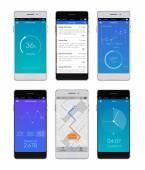 Smartphone Ui sada — Stock vektor