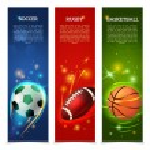 Soccer Banners Set — Stock Vector #69395035
