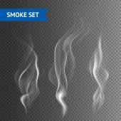 Smoke Transparent Background — Stock Vector