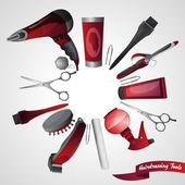 Barber Shop Concept — Stock Vector