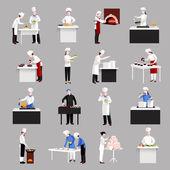 Cooking Icons Set — 图库矢量图片