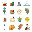 Sewing Icons Set — Stock Vector #70842157
